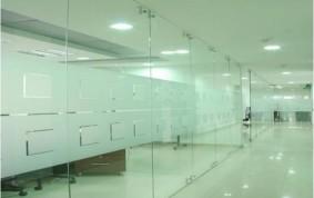 Divisiones de Oficinas en Vidrio Templado